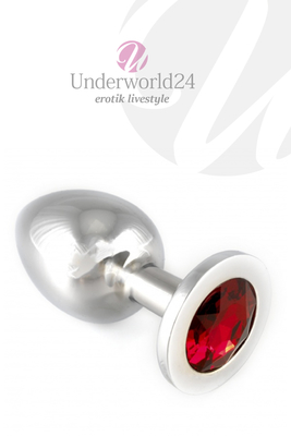 Buttplug Crystal red